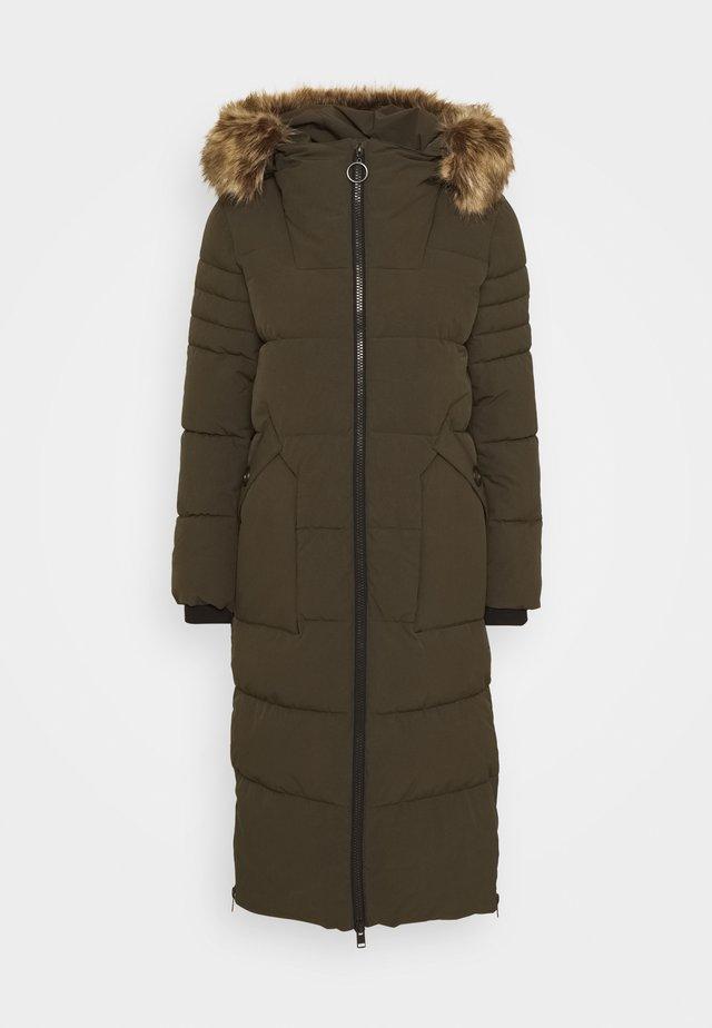 PUFFER - Winter coat - dark khaki