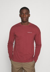 Abercrombie & Fitch - EXPLODED - Long sleeved top - burg - 0
