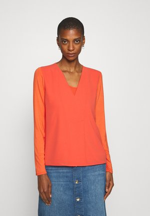FARINO - Blouse - flame