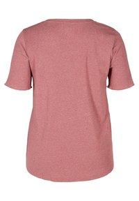 Zizzi - Basic T-shirt - apple butter - 5