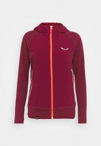 Salewa - ROLLE - Fleece jacket - rhodo red - 4