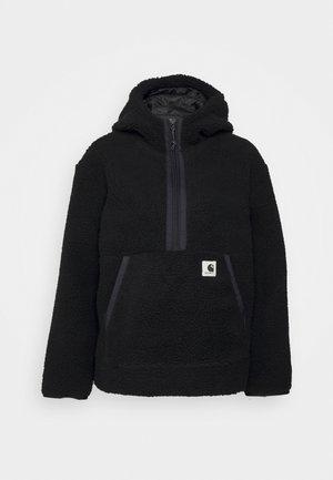 HOODED LOON LINER - Summer jacket - black