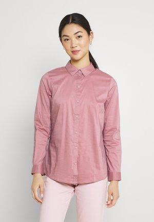 Button-down blouse - nostalgia rose