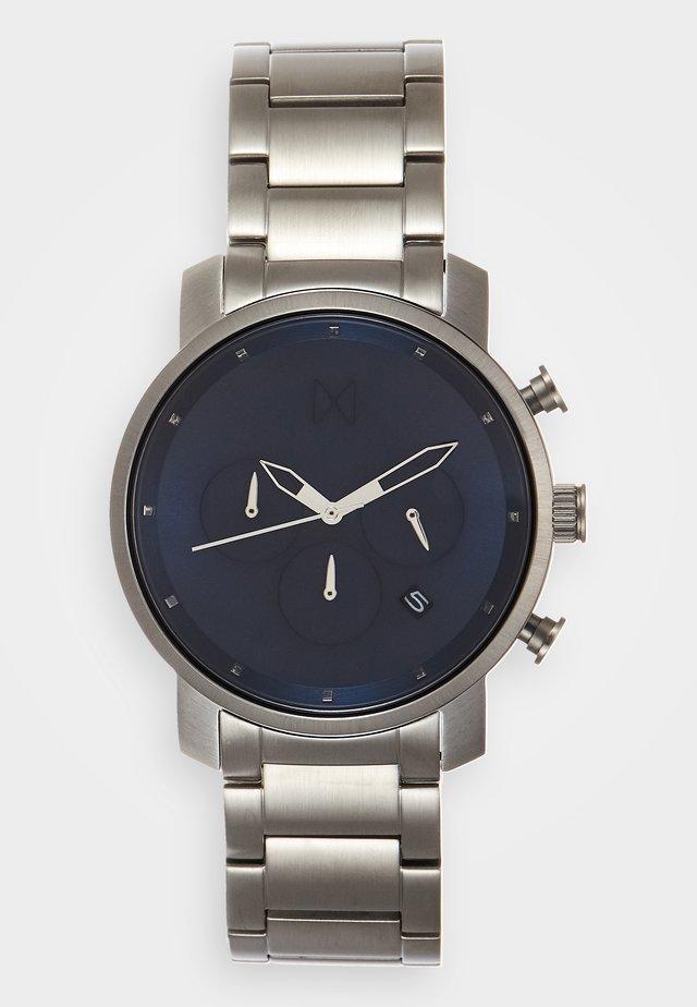Kronografklockor - midnight/silver-coloured
