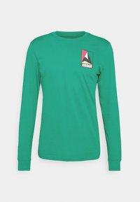 Jordan - MOUNTAINSIDE CREW - Long sleeved top - neptune green - 4