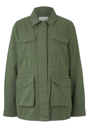 TOM TAILOR DENIM JACKEN & JACKETS UTILITY FELDJACKE - Summer jacket - dull moss green