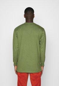 Dickies - HENLEY TEE - Long sleeved top - army green - 2