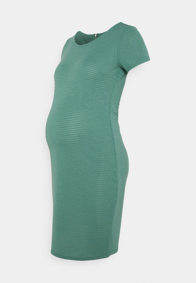 DRESS ZINNIA - Sukienka z dżerseju - blue spruce