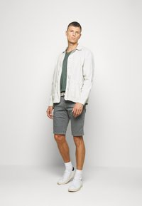 Marc O'Polo - SHORT SLEEVE RAW - Basic T-shirt - mangrove - 1
