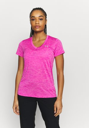 TECH TWIST - Sports shirt - meteor pink