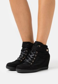 Anna Field - Höga sneakers - black - 0