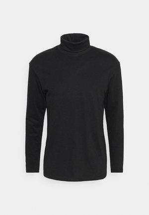 JJERILEY TEE TURTLE NECK - T-shirt à manches longues - black