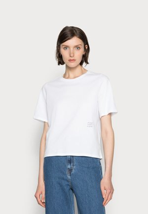 HAPINESS - T-shirts med print - white