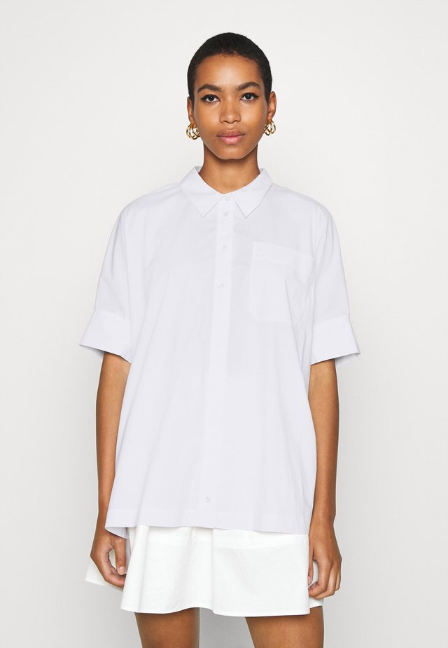 NORIA - Button-down blouse - white