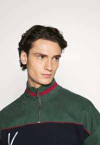 Karl Kani - SIGNATURE BLOCK TROYER - Sweatshirt - green - 3