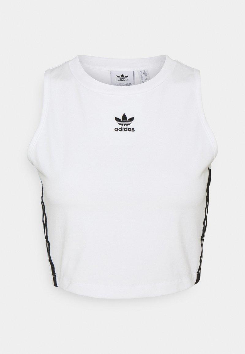 adidas Originals - ADICOLOR FITTED - Top - white