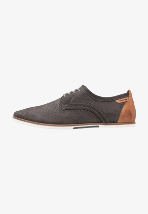 Casual lace-ups - dark gray