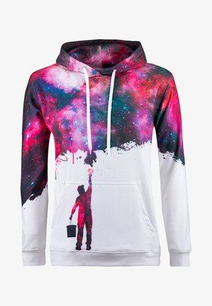 PAINT MY GALAXY  - Hoodie - white