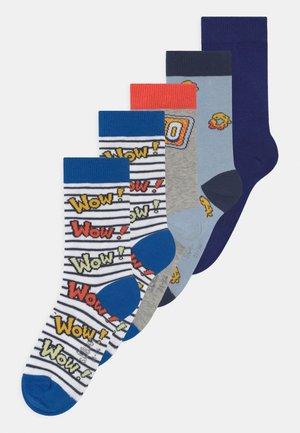 ONLINE JUNIOR COMIC FRUIT 5 PACK  - Ponožky - olympian blue