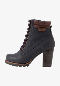TOM TAILOR - Ankle boots - navy - 1