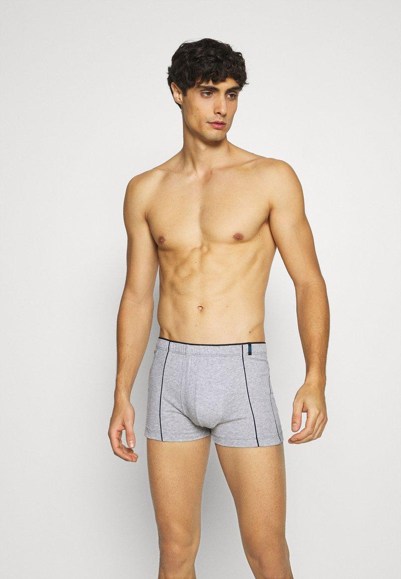 Schiesser - 2 PACK  - Pants - dark blue/mottled grey