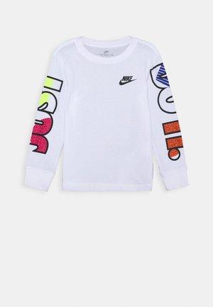 JDI 90'S TEE - Bluzka z długim rękawem - white