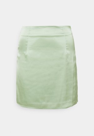 SKIRT  - Mini skirt - sage