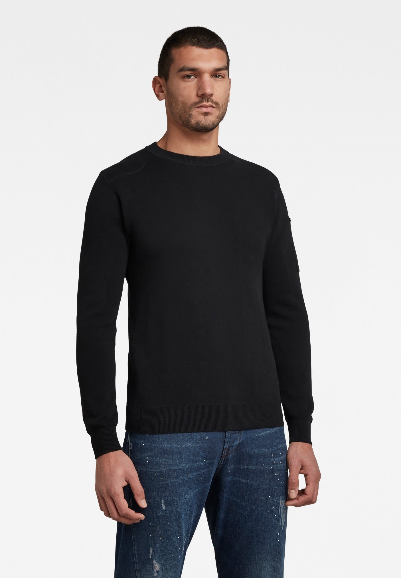 Homme SLEEVE POCKET KNITTED - Pullover