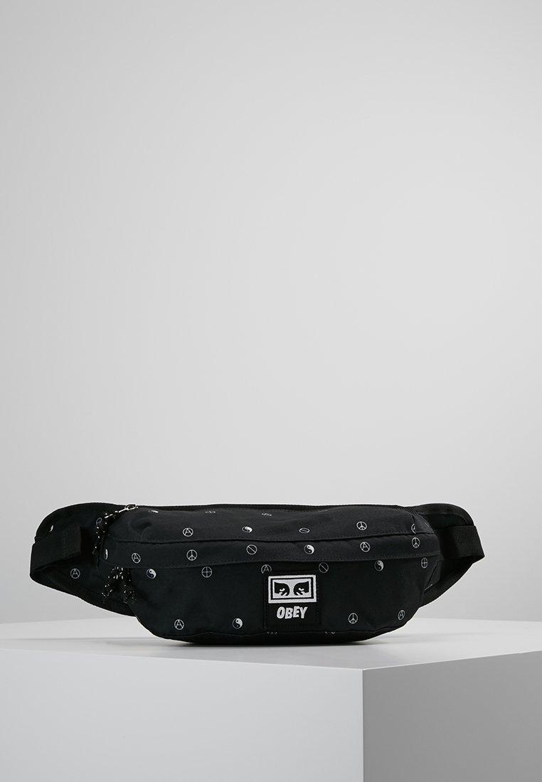 Obey Clothing - DROP OUT SLING PACK - Bum bag - symbol black