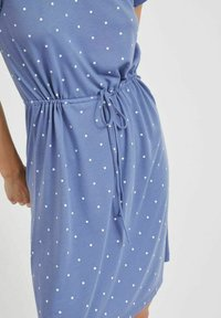 Vila - VIMOONEY STRING - Jersey dress - colony blue - 4