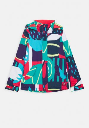 ELODIE FLOWER POWER - Snowboardjacke - multicoloured