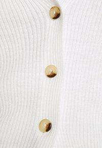 Missguided - CROP CARDIGAN - Cardigan - off white - 4
