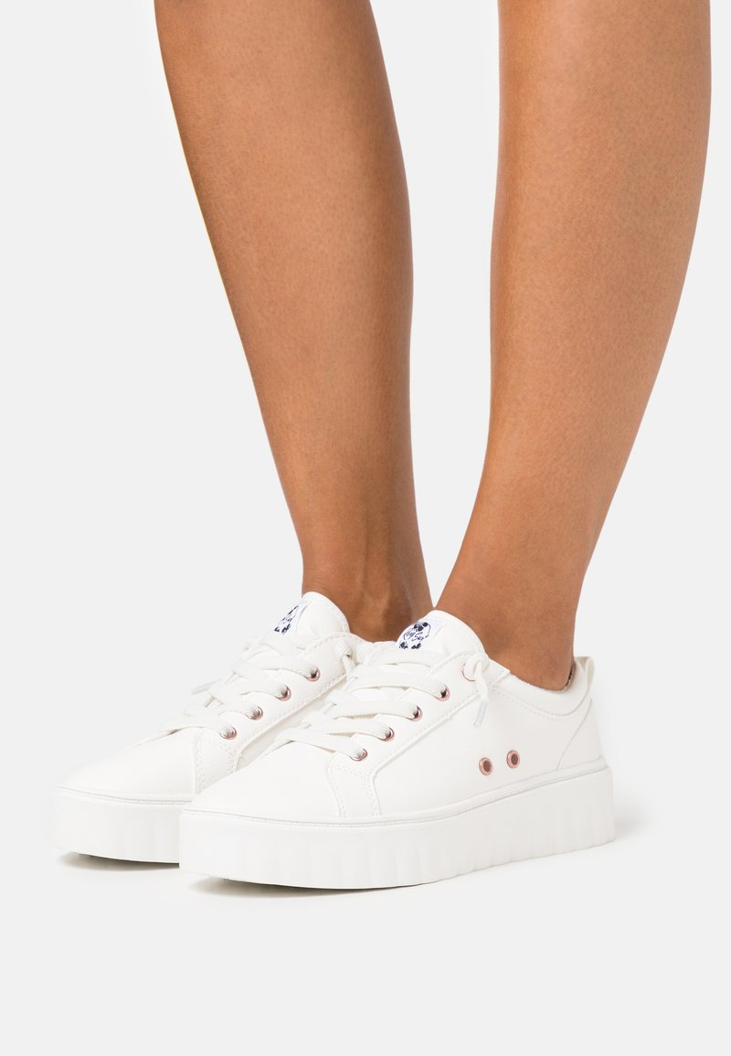 Roxy - SHEILAHH - Baskets basses - white