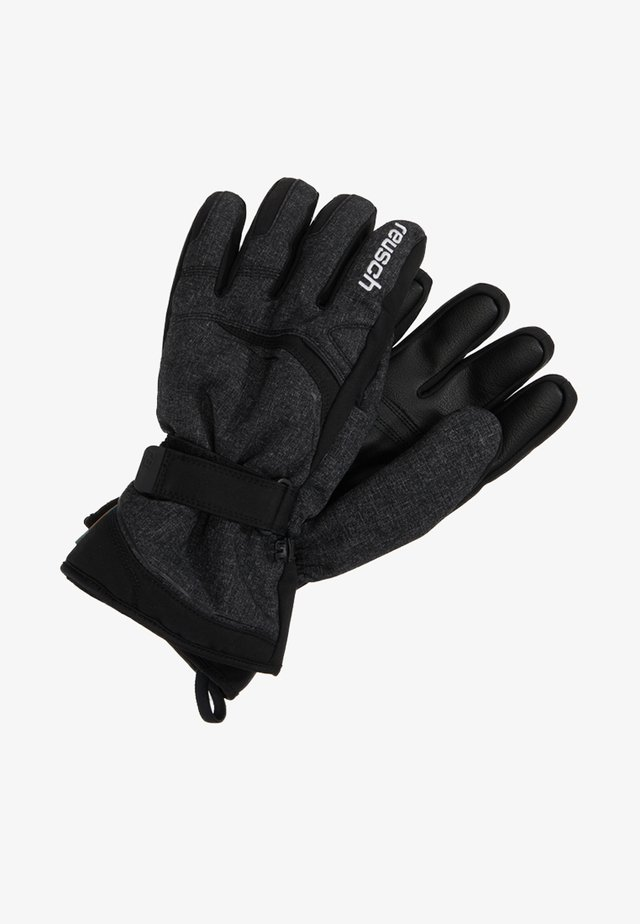 PRIMUS R-TEX® - Rękawiczki pięciopalcowe - black/black melange
