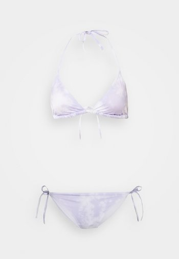 BRA ALICE TANGA  - Bikini - purple/white