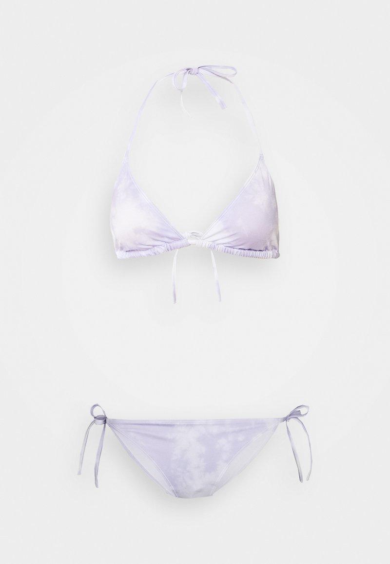 Monki - Bikini - purple/white
