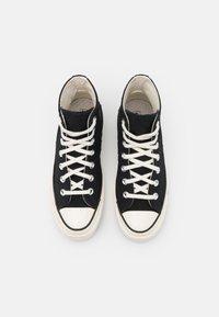 Converse - CHUCK 70 - Korkeavartiset tennarit - black/egret/almost black - 5