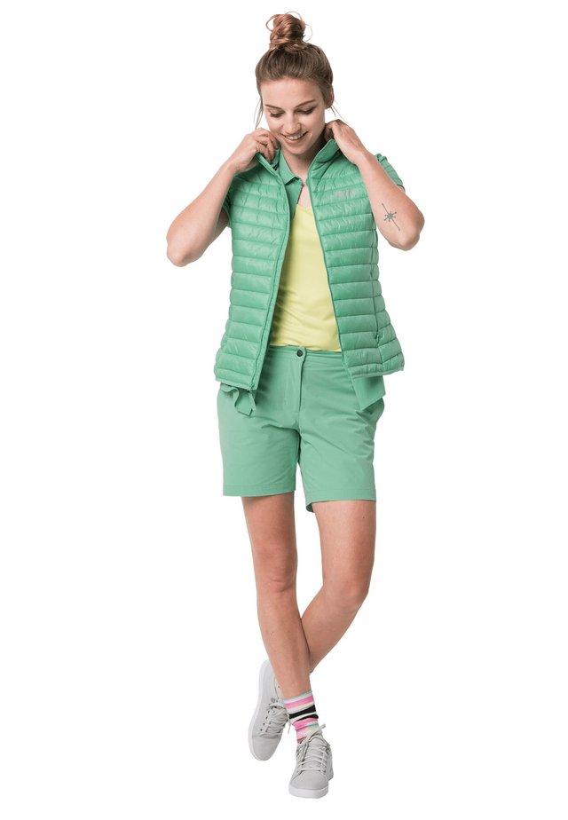 Waistcoat - pacific green