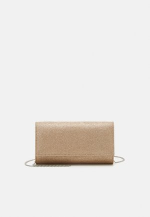 IVY FOLD OVER - Clutch - gold glitter