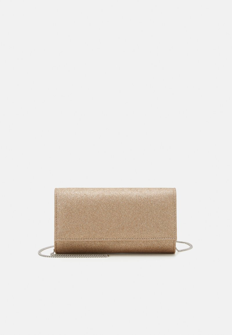 Forever New - IVY FOLD OVER - Clutch - gold glitter
