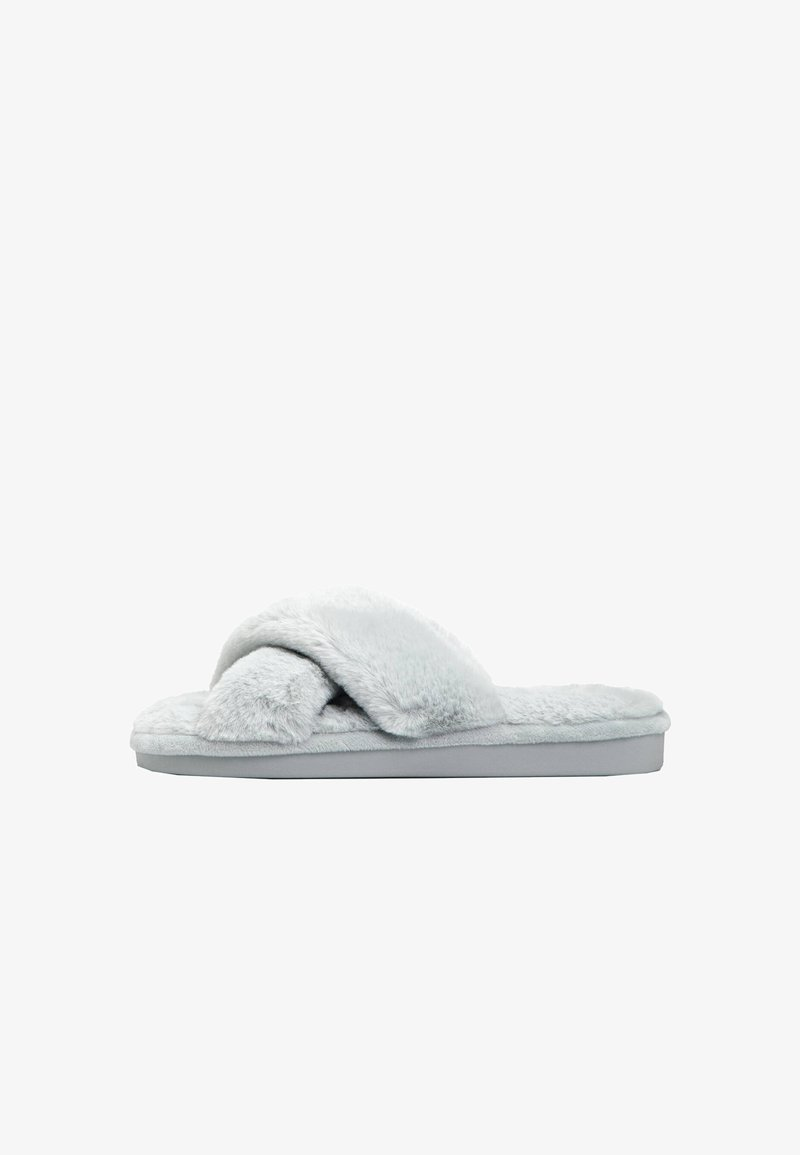 OYSHO - Slippers - grey