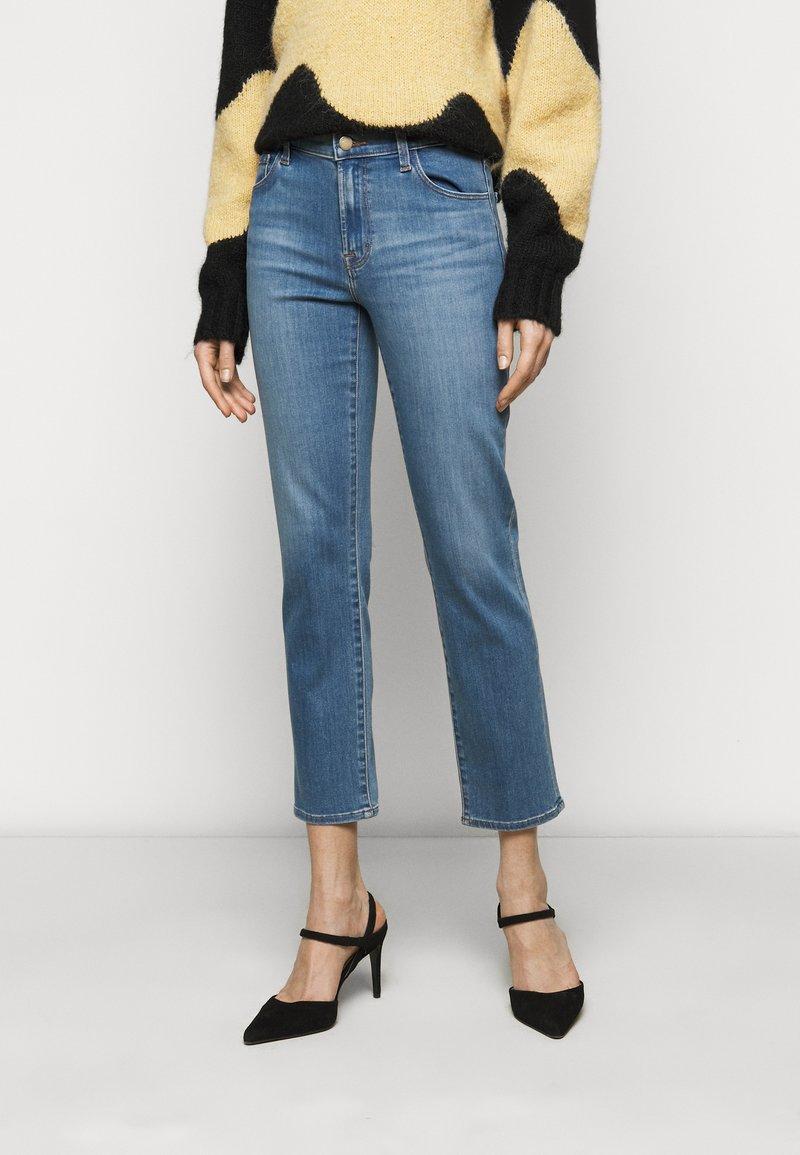 J Brand - ADELE  - Straight leg jeans - earthen