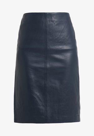 HANNA PENCIL SKIRT - Pencil skirt - dark blue