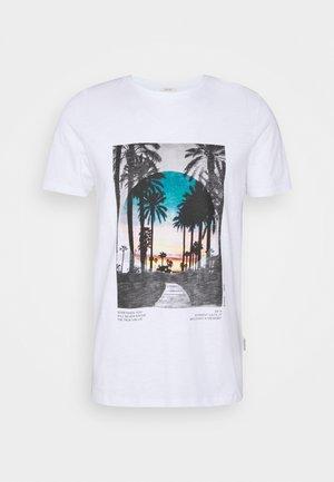 AMARI TEE - T-shirt print - white