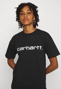 Carhartt WIP - SCRIPT - Camiseta estampada - black/white - 3