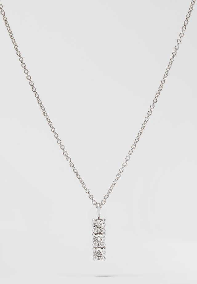 WHITE GOLD - Collana - silver-coloured