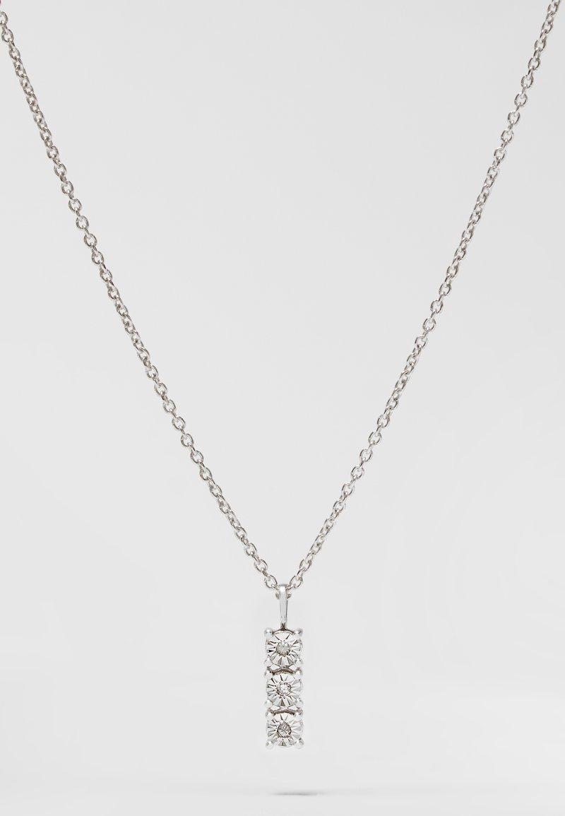 DIAMANT L'ÉTERNEL - WHITE GOLD - Necklace - silver-coloured