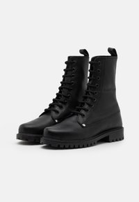 DECHASE - BOKINA UNISEX - Lace-up ankle boots - black - 1
