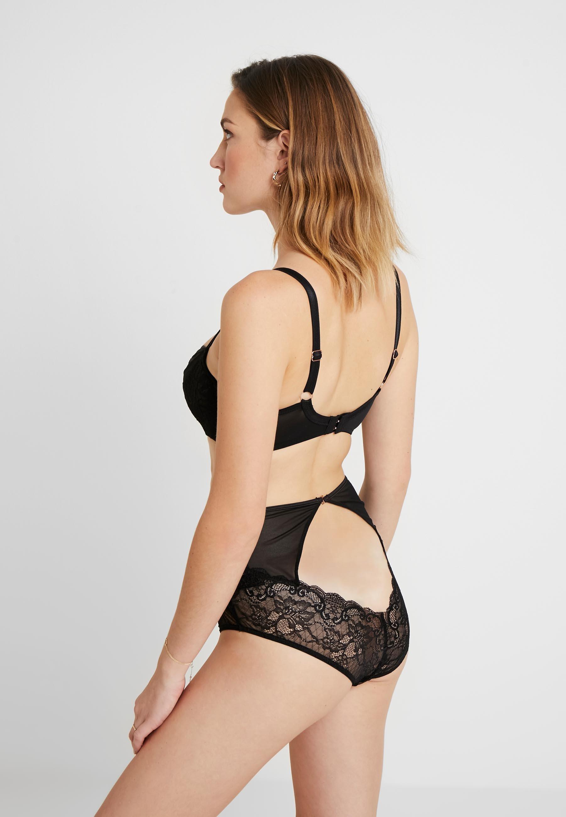 Curvy Kate SHEER CLASS HIGH WAIST BRIEF - Bikiniunderdel - black