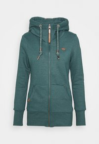 Ragwear - NESKA ZIP - Zip-up sweatshirt - dark green - 4